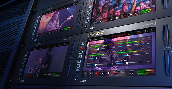 Nab 2019 Blackmagic S Hyperdeck Extreme 8k Hdr Records Native 8k In H 265