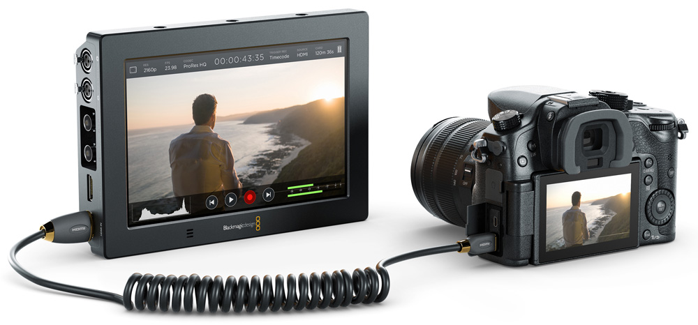 Blackmagic VideoAssist4K DSLR angle rgb