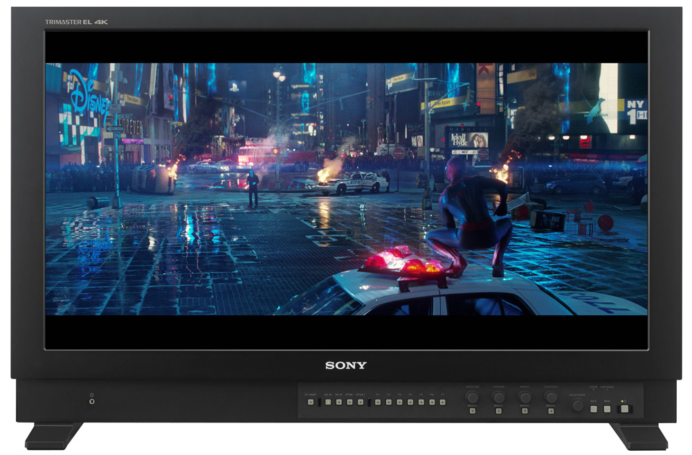 Sony bvm X300 hdr