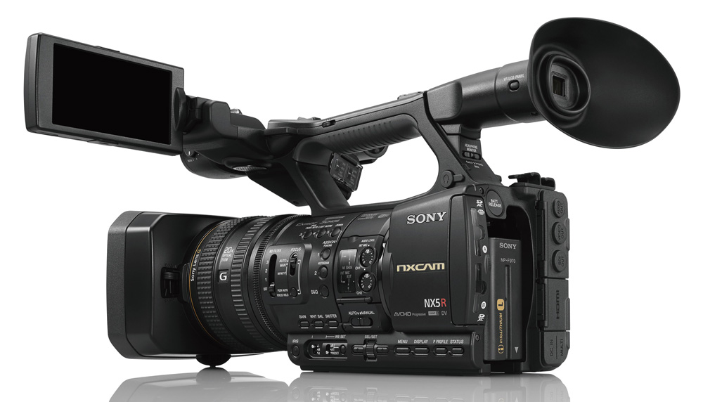 Sony Supports Multi-Cam Live Streaming with New NXCAM & Switcher