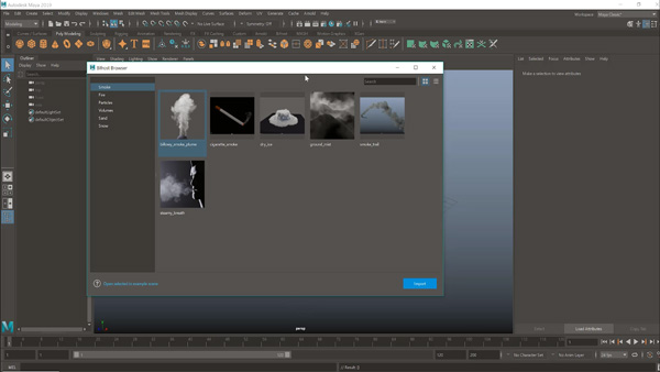 Autodesk Bifrost Ready to use graphs