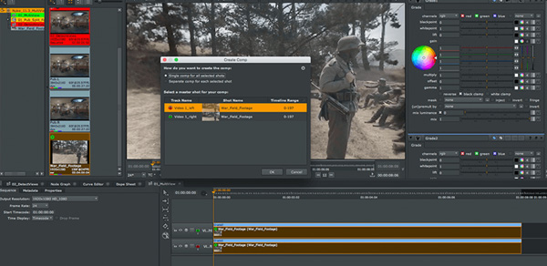 Foundry Nuke multiview video cover