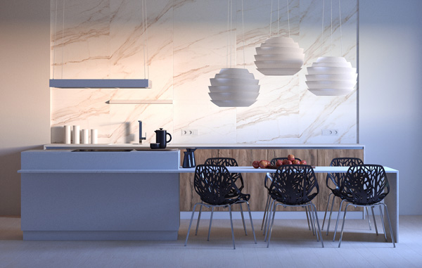 Vray next sketchup kitchen 03