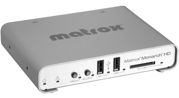 Matrox monarch hd