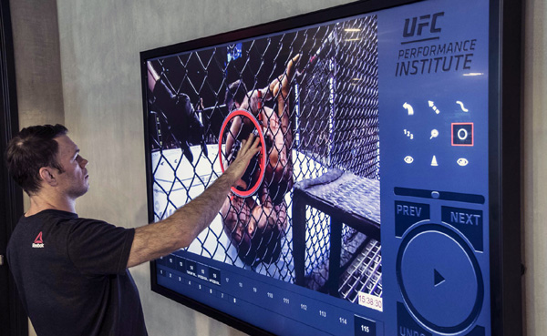 ChyronHego paint UFC training2