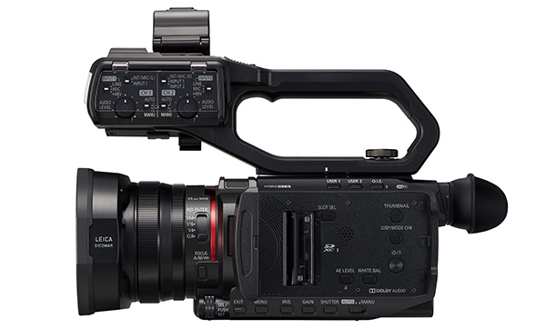Panasonic CX10 X2000 side 2