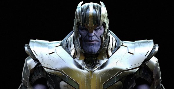 Jerad Marantz KeyShot thanos warrior1