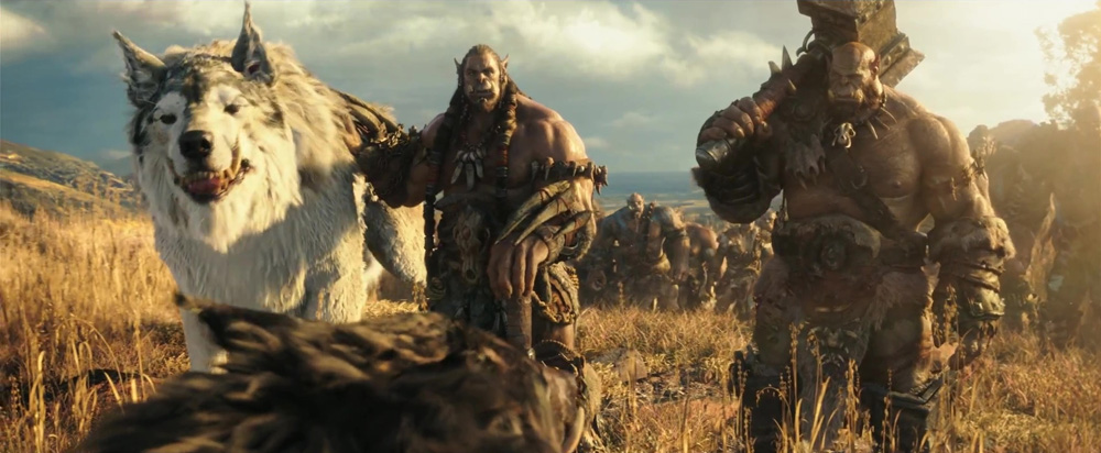 Animatrik warcraft orc2