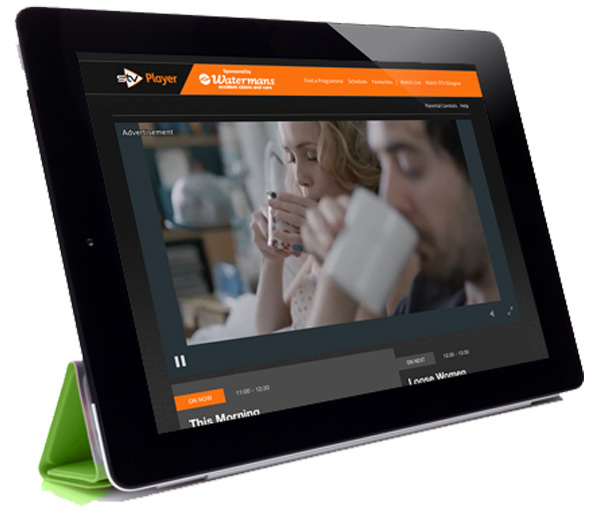 OTT STV Player iPad
