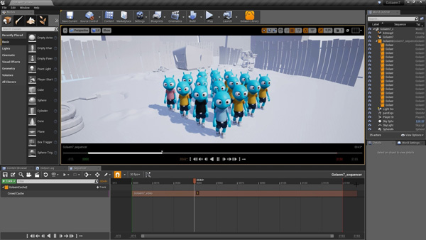 Golaem 7 Develops New Procedural Character Layout Tool and Link to