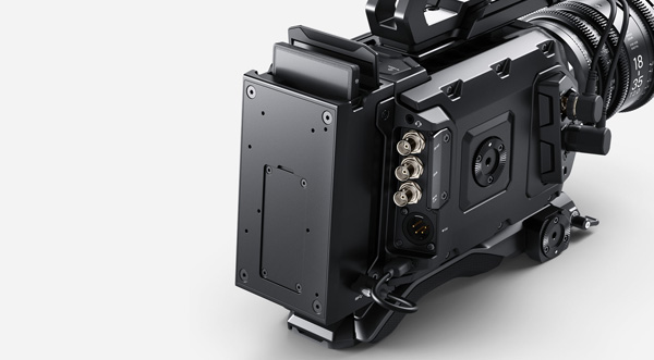 Blackmagic ursa mini recorder