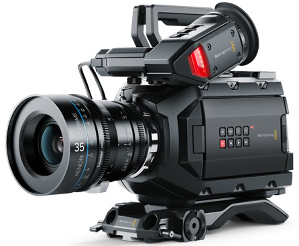 Ursa Mini 4 6k Amp Micro Cinema Cameras Now Shipping New
