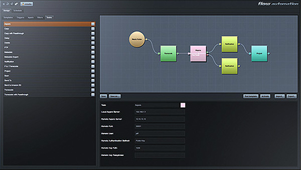 Editshare flow3 automation