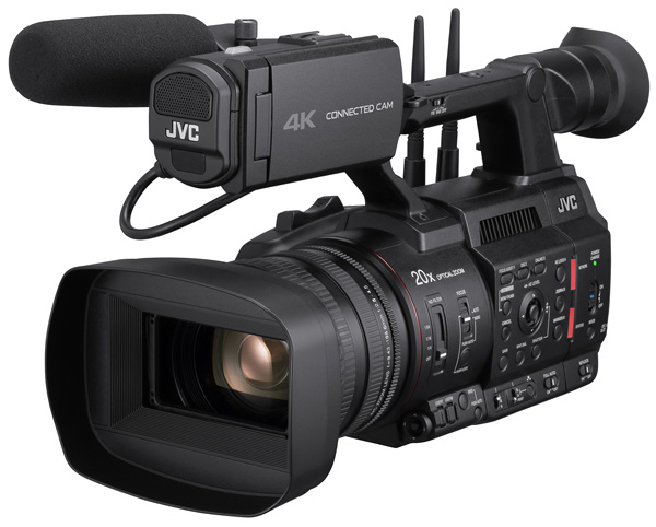JVC CONNECTED CAM SRT GY HC500