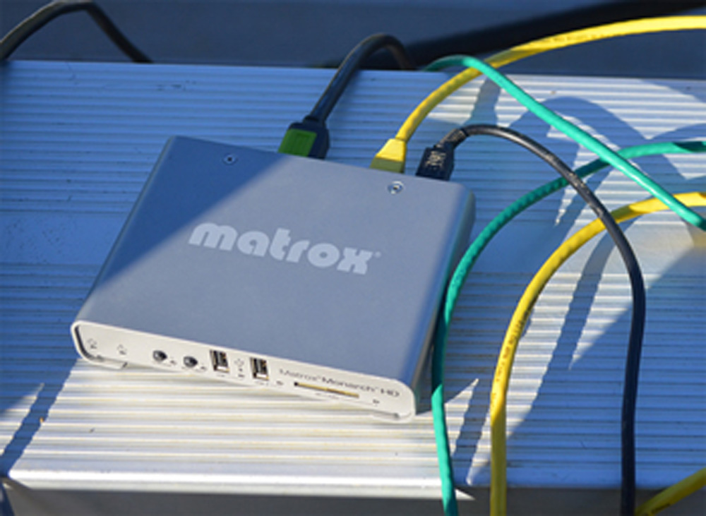 Matrox Monarch HD closeup