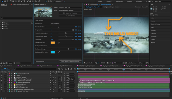 Adobe After Effects Essential Graphics