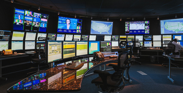 The switch tv noc control room