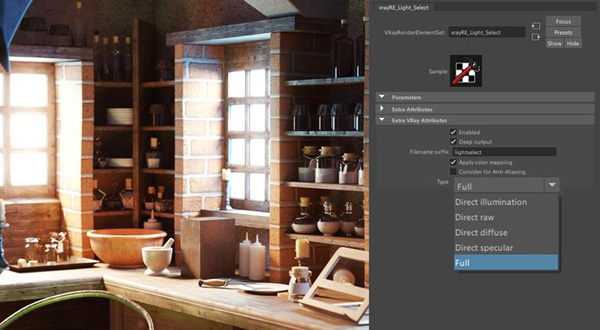 Vray 3 6 hybrid maya full light