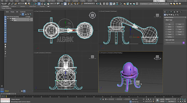 Autodesk 3ds Max 2019 2 Updates Fluids and Alembic Support