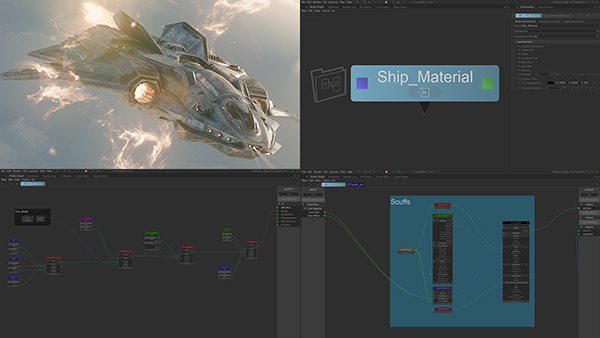 Foundry Katana 3 2 Ship Material UX Hd