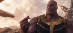 Weta titan battle thanos