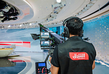 Asharq News Studio camera